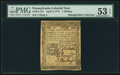 Colonial Notes:Pennsylvania, Pennsylvania April 3, 1772 1s PMG About Uncirculated 53 EPQ.. ...