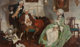 Dean Cornwell (American, 1892-1960) Old Fashion, 1925 Oil on canvas 26-1/2 x 44-1/2 inches (67.3 x 113.0 cm) Signed