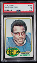 Football Cards:Singles (1970-Now), 1976 Topps Walter Payton #148 PSA EX 5....