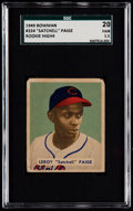 Baseball Cards:Singles (1940-1949), 1949 Bowman Satchell Paige #224 SGC 20 Fair 1.5....