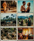 "Movie Posters:War, The Bridge on the River Kwai (Columbia, 1958). Color Photo Set of 12 (8"" X 10). War.. ... (Total: 12 Items)"