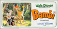 "Movie Posters:Animation, Bambi (CIC, R-1976). Italian Striscione (55"" X 115""). Animation....."