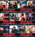 "Movie Posters:Action, The Delta Force & Other Lot (Cannon, 1986). Italian Photobustas (12) (18.5"" X 26.25"" & 18.5"" & 26.5""). Action.. ... (Total: 12 Items)"