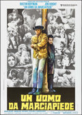 "Movie Posters:Academy Award Winners, Midnight Cowboy (United Artists, R-1980s). Italian 2 - Fogli (39.5""X 55.25""). Academy Award Winners.. ..."
