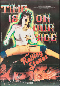 """Let's Spend the Night Together (Embassy, 1983). Italian 2 - Fogli (38.25"""" X 55""""). Rock and Roll. Alternate Tit..."""