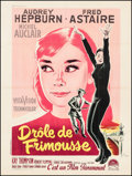 "Movie Posters:Romance, Funny Face (Paramount, 1957). French Grande (47.5"" X 63"").Romance.. ..."