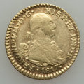 Colombia, Colombia: Ferdinand VII gold Escudo 1817 NR-JF About Very Fine,...