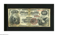 National Bank Notes:Pennsylvania, Troy, PA - $10 1882 Brown Back Fr. 487 The First NB Ch. # (E)4984. This note is not in the Kelly census of 11 Large that...