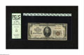 National Bank Notes:Virginia, Norfolk, VA - $20 1929 Ty. 1 Norfolk NB of Commerce & TrustsCh. # 6032. This note exhibits some staining, but is graded...