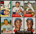 Baseball Cards:Lots, 1953-55 Bowman/Topps Baseball Collection (26)....