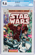 Bronze Age (1970-1979):Science Fiction, Star Wars #3 35 Cent Price Variant (Marvel, 1977) CGC NM+ 9.6 Off-white to white pages....