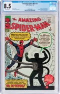 Silver Age (1956-1969):Superhero, The Amazing Spider-Man #3 (Marvel, 1963) CGC VF+ 8.5 Off-white pages....