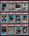 Baseball Cards:Lots, 1974-2004 Multi-Sport PSA Graded Collection (24)....