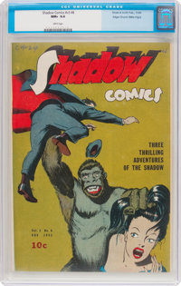 Shadow Comics V3#8 Mile High Pedigree (Street & Smith, 1943) CGC NM+ 9.6 White pages
