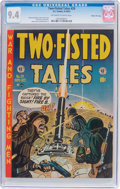 Golden Age (1938-1955):War, Two-Fisted Tales #29 Gaines File Pedigree 6/11 (EC, 1952) CGC NM 9.4 Off-white to white pages....