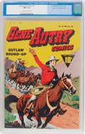 Golden Age (1938-1955):Western, Gene Autry Comics #6 Mile High Pedigree (Fawcett Publications,1943) CGC NM+ 9.6 Off-white to white pages....