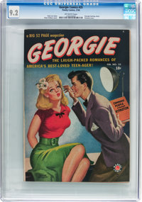 Georgie Comics #25 (Timely, 1950) CGC NM- 9.2 Off-white pages