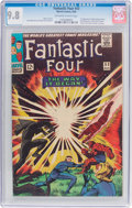 Silver Age (1956-1969):Superhero, Fantastic Four #53 (Marvel, 1966) CGC NM/MT 9.8 Off-white to white pages....