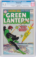 Silver Age (1956-1969):Superhero, Showcase #22 Green Lantern (DC, 1959) CGC NM- 9.2 Cream tooff-white pages....