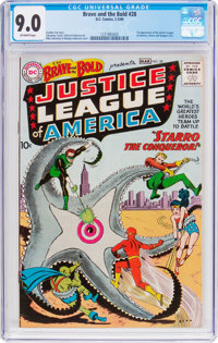 The Brave and the Bold #28 Justice League of America (DC, 1960) CGC VF/NM 9.0 Off-white pages