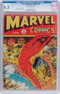 Golden Age (1938-1955):Superhero, Marvel Mystery Comics #38 (Timely, 1942) CGC FN+ 6.5 Off-white pages....