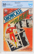 Silver Age (1956-1969):Superhero, Showcase #4 The Flash (DC, 1956) CBCS GD 2.0 Off-white to white pages....