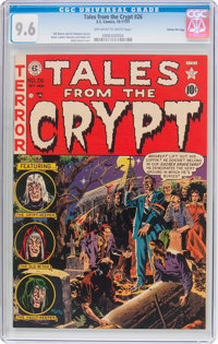 Tales From the Crypt #26 Gaines File Pedigree (EC, 1951) CGC NM+ 9.6 Off-white to white pages