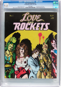 Love and Rockets #1 (Fantagraphics Books, 1982) CGC NM/MT 9.8 White pages