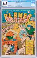 Golden Age (1938-1955):Science Fiction, Planet Comics #8 (Fiction House, 1940) CGC FN+ 6.5 Off-whitepages....