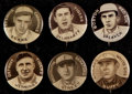 Baseball Cards:Lots, 1910 P2 Sweet Caporal Pins Lot (23) With 3 HOFers. ...