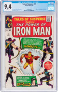 Silver Age (1956-1969):Superhero, Tales of Suspense #57 (Marvel, 1964) CGC NM 9.4 White pages....