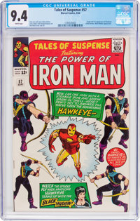 Tales of Suspense #57 (Marvel, 1964) CGC NM 9.4 White pages