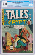 Golden Age (1938-1955):Horror, Tales From the Crypt #20 (#1) (EC, 1950) CGC VF/NM 9.0 Off-whitepages....
