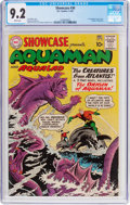 Silver Age (1956-1969):Superhero, Showcase #30 Aquaman (DC, 1961) CGC NM- 9.2 White pages....