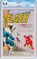 Silver Age (1956-1969):Superhero, The Flash #114 (DC, 1960) CGC NM 9.4 White pages....
