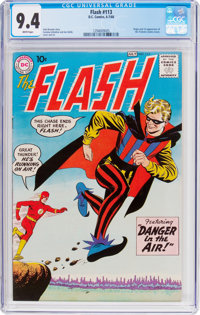 The Flash #113 (DC, 1960) CGC NM 9.4 White pages
