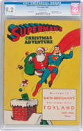 Golden Age (1938-1955):Superhero, Superman's Christmas Adventure #1 (DC, 1940) CGC NM- 9.2 Off-white pages....