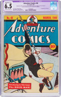 Golden Age (1938-1955):Superhero, Adventure Comics #48 (DC, 1940) CGC Apparent FN+ 6.5 Slight to Moderate (B-2) Off-white to white pages....