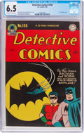Golden Age (1938-1955):Superhero, Detective Comics #108 (DC, 1946) CGC FN+ 6.5 Off-white to white pages....