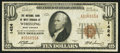 National Bank Notes:West Virginia, Wheeling, WV - $10 1929 Ty. 1 The NB of West Virginia Ch. # 1424. ...