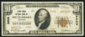 National Bank Notes:Nebraska, South Omaha, NE - $10 1929 Ty. 2 Stock Yards NB Ch. # 9908. ...
