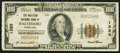 National Bank Notes:Maryland, Baltimore, MD - $100 1929 Ty. 1 The Western NB Ch. # 1325. ...