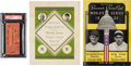 Baseball Collectibles:Programs, 1933 World Series Program, Ticket & Train Menu. ...