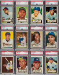 Baseball Cards:Sets, 1952 Topps Baseball Low Number Near Set (309/310). ...