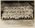 Autographs:Photos, 1941 St. Louis Cardinals Team Signed Photograph - From The MortCooper Collection. ...