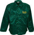 """Football Collectibles:Uniforms, Green Bay Packers """"Lombardi Style"""" Game Worn Coach's Sideline Jacket. ..."""
