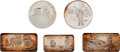 Explorers:Space Exploration, Apollo 11 Medals: One Troy Ounce, .999 Fine Silver Ingots andRounds (Five). ...
