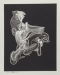 Fine Art - Work on Paper:Print, Frank Stella (b. 1936). Schwarze Weisheit #3, 2000.Lithograph and aquatint in colors on heavy wove paper. 32 x 24-3/4i...
