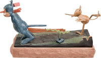 Krazy Kat Classic Bronze Sculpture by Gary Ernest Smith Limited Edition #AP/Prototype (Overland Gallery, 1999)