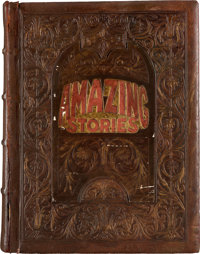 """A Huge Prop Book from the Steven Spielberg-Created TV Show """"Amazing Stories."""""""